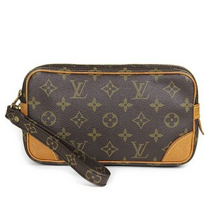 Louis Vuitton Cosmetic Trousse Wristlet in brown
