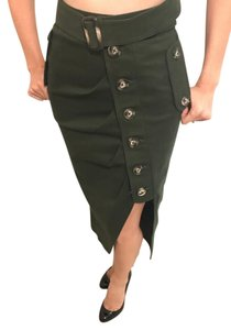 self-portrait Skirt Green