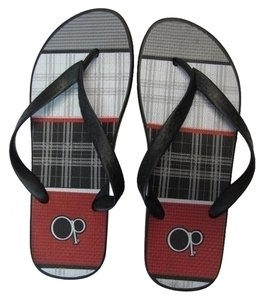 OP Flip Flop New Size 9-10 BLACK, WHITE, GRAY, RED Flats