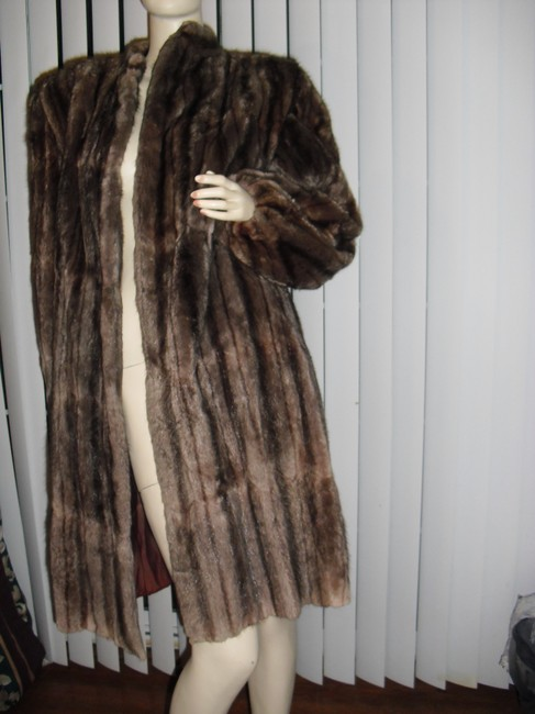Genuine Fur Coat Image 1