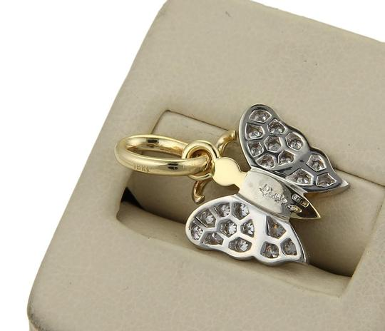 Pomellato Diamond 18k Yellow & White Gold Butterfly Pendant Image 3