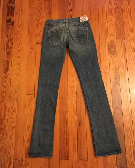 True Religion Straight Leg Jeans-Distressed Image 1