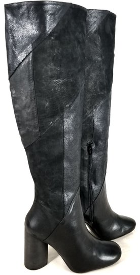 Free People Black Suede & Leather Boots Image 2