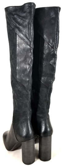 Free People Black Suede & Leather Boots Image 5