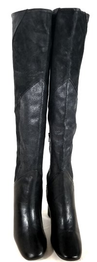 Free People Black Suede & Leather Boots Image 6