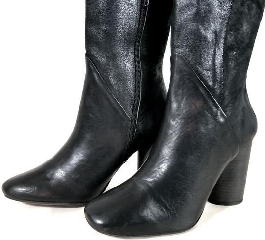 Free People Black Suede & Leather Boots Image 7