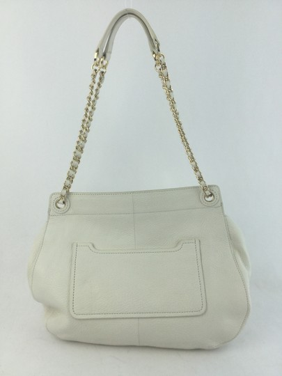 Tory Burch Marion Saddle Off White Shoulder Bag