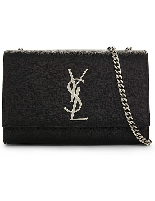 Item - Monogram Kate Ysl Small In Grain De Poudre Embossed Black Leather Shoulder Bag