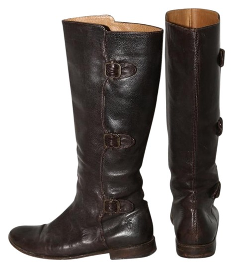 Preload https://img-static.tradesy.com/item/22050640/frye-brown-paige-tall-buckle-leather-bootsbooties-size-us-8-regular-m-b-0-1-540-540.jpg
