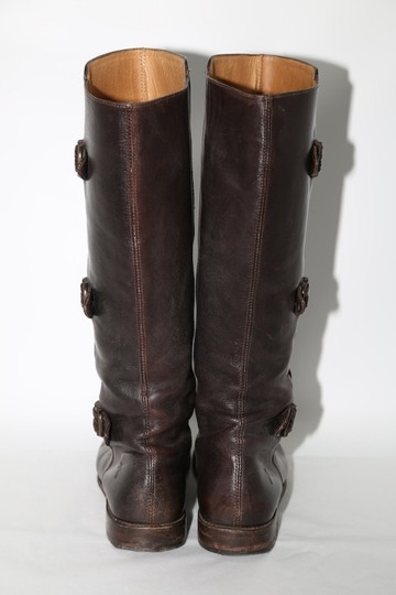 Frye Ridding Brown Boots Image 10