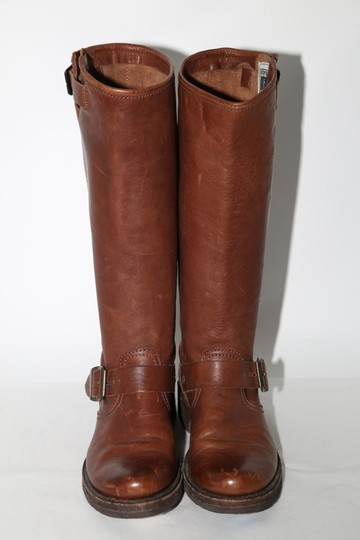 Frye Ridding Brown Boots Image 1