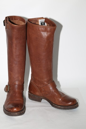 Frye Ridding Brown Boots Image 2