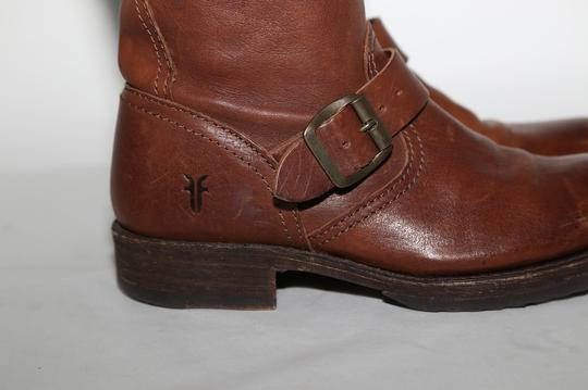 Frye Ridding Brown Boots Image 4