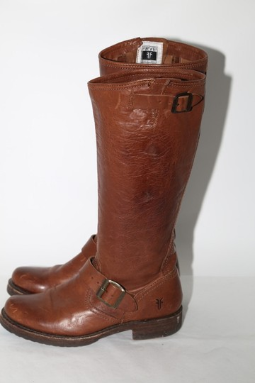 Frye Ridding Brown Boots Image 6