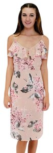 Sugarlips short dress Pink Showered With Flowers on Tradesy