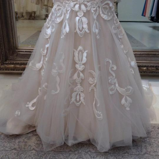Fiore Couture Ivory/Taupe Jenny Modern Wedding Dress Size 8 (M) Image 2