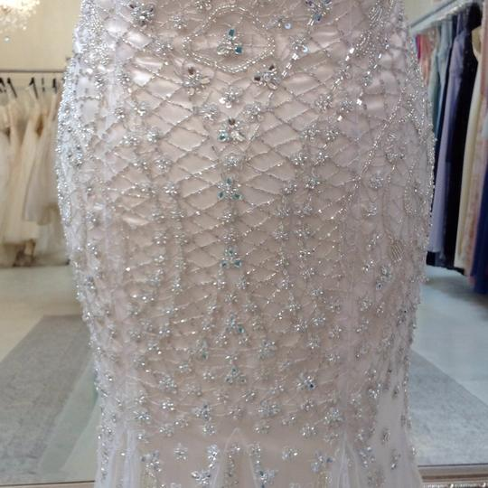 Fiore Couture Gold/Ivory Tulle/Beading Jackie Modern Wedding Dress Size 8 (M) Image 3