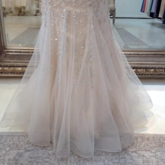 Fiore Couture Gold/Ivory Tulle/Beading Jackie Modern Wedding Dress Size 8 (M) Image 4