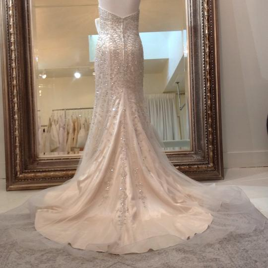 Fiore Couture Gold/Ivory Tulle/Beading Jackie Modern Wedding Dress Size 8 (M) Image 5