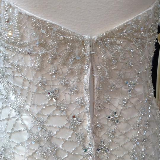 Fiore Couture Gold/Ivory Tulle/Beading Jackie Modern Wedding Dress Size 8 (M) Image 6