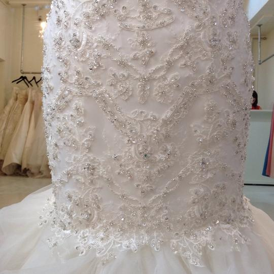 Fiore Couture Ivory Lace/Organza Natalie Modern Wedding Dress Size 8 (M) Image 3