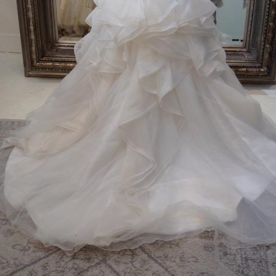 Fiore Couture Ivory Lace/Organza Natalie Modern Wedding Dress Size 8 (M) Image 8