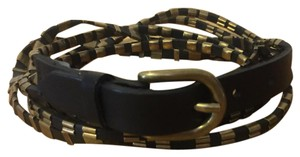 Isabel Marant Leather & brass belt