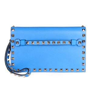 Valentino Blue Clutch