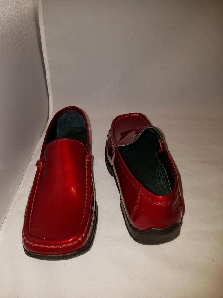 Kenneth Cole Patent Leather Shoes Red