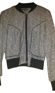 For Cynthia Black, White, & Grey Jacket