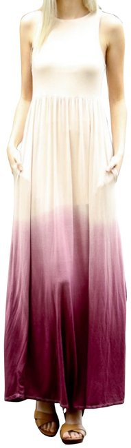 Preload https://img-static.tradesy.com/item/22051756/my-story-ivory-wine-ombre-tank-new-s-m-l-long-casual-maxi-dress-size-4-s-0-3-650-650.jpg