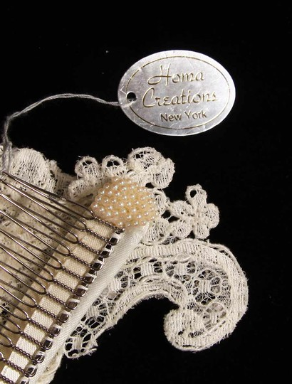 Homa Bridal Ivory 112-f Comb Hair Accessory Image 3