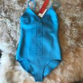 Clover Canyon Clover Canyon aqua laser cut out one piece swim suit Image 2