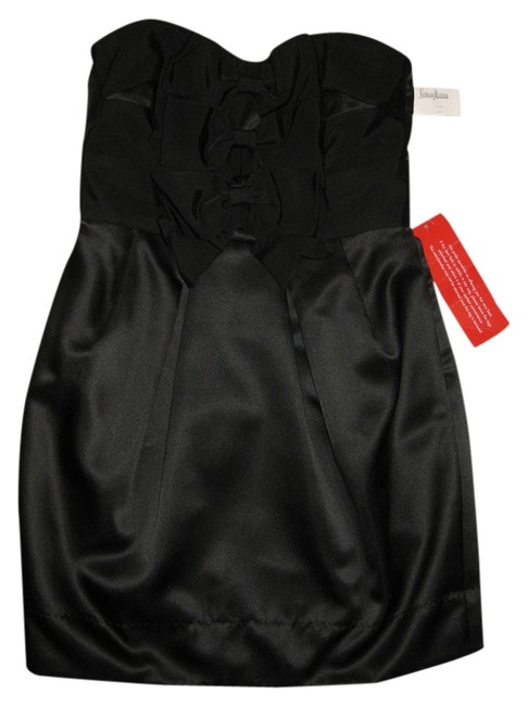 Preload https://item2.tradesy.com/images/phoebe-couture-black-knee-length-cocktail-dress-size-8-m-2205221-0-0.jpg?width=400&height=650