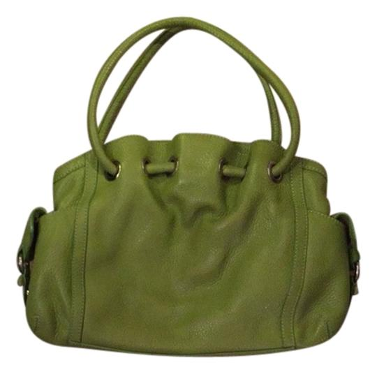 Preload https://img-static.tradesy.com/item/2205223/cole-haan-green-leather-satchel-0-0-540-540.jpg