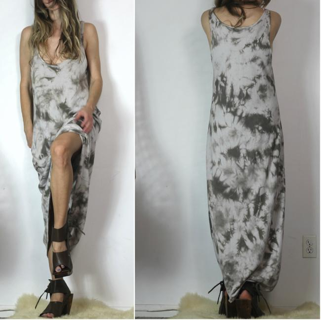 Grey Maxi Dress by Left on Houston Tie Knit Be Achy Beach Free People Boho Bohemian Image 6
