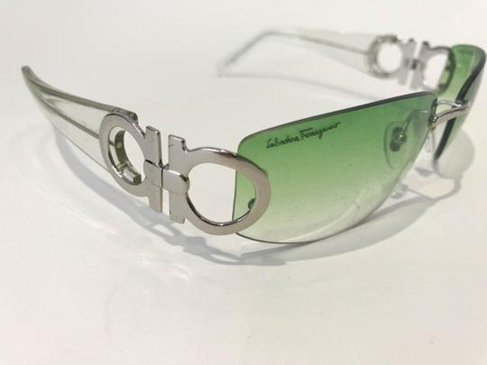 Salvatore Ferragamo Salvatore Ferragamo Green 1047 sunglasses Image 5