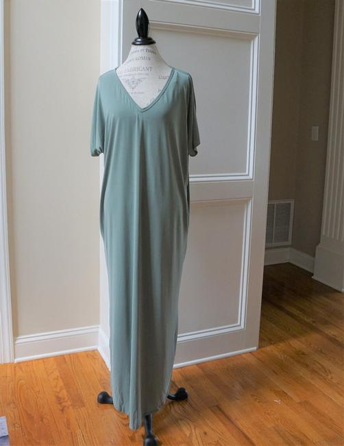 Olive Maxi Dress by My Story Sexy Fall Maxi Vacation Image 1