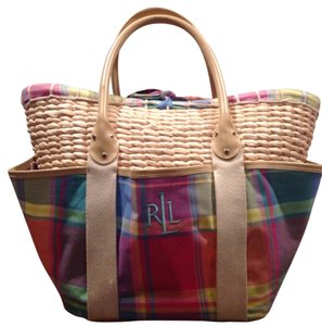 Ralph Lauren Spring Colors Beach Bag