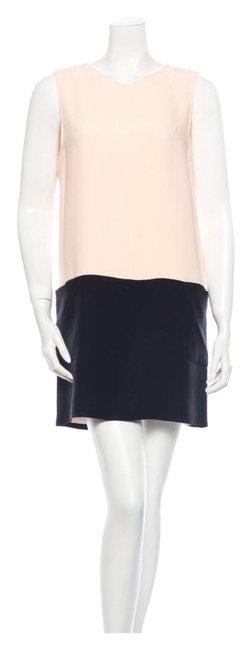 Preload https://img-static.tradesy.com/item/2205315/jenni-kayne-pale-peach-and-black-colorblock-cocktail-dress-size-6-s-0-0-650-650.jpg