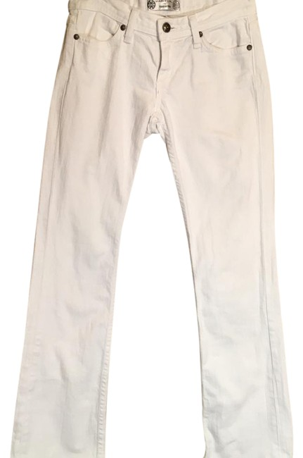 Item - White Tory By Trb Straight Leg Jeans Size 24 (0, XS)