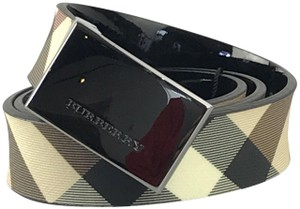 Burberry Nova Check and Black 30mm Springfield Reversible Belt