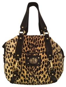 Juicy Couture Leopard Hobo Bag