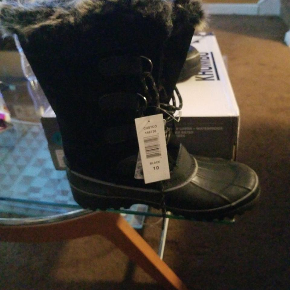 womens At Khombu Black/Grey Northstar Boots/Booties At womens an affordable price aac75d