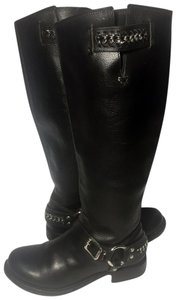 Frye 77637 Size 7 Motorcycle 7 Leather 7 Black Boots