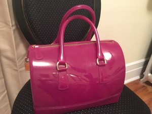 Furla Jelly Candy Satchel in Lilac