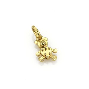 Pomellato Puppet Animated 18k Yellow Gold Bear Charm