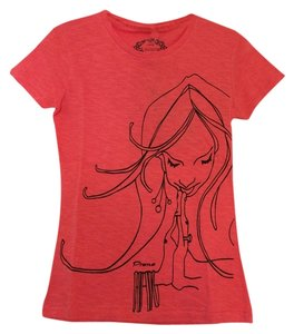 prAna Organic Cotton Short Sleeve T Shirt Sea Coral