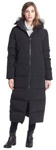 Canada Goose Two-way Zip Storm Placket Rib-knit Duck Down Insulation Made In Canada Fur Coat