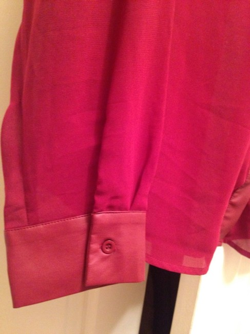 W118 by Walter Baker Button Down Shirt Red